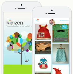 Kidizen: terrific new app for buying and selling gently used kids' clothes and toys.