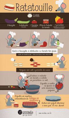 Rattatouille. www.ixigirl.com ❤️