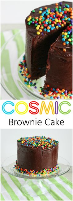 Cosmic Brownie Cake by The Ruby Kitchen                                                                                                                                                                                 More