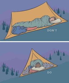 Use these tips on how to pitch a tent to stay dry, comfortable and on the level.