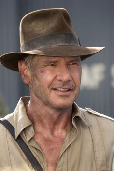 Indiana Jones (Harrison Ford) - Indiana Jones and the Kingdom of the Crystal Skull (2008)