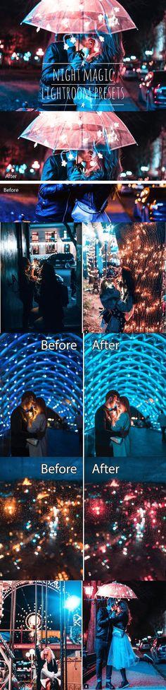 Night Magic Lightroom Presets. Lightroom Presets