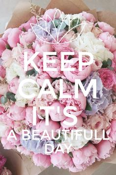 When you have a beautifull day☘ # keep calm #beautifull day