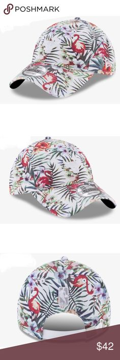 NEW - Tropical Chicago Bulls Hat Brand NWT never worn, chicago bulls nba tropical printed cap. Hat has adjustable strap in the back & original stickers on the brim - i have 2 of these New Era Accessories Hats