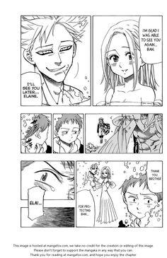 Nanatsu no Taizai 26: Parting With The Dead. Ban loves Elaine sooooo much and its sooooooo cute!