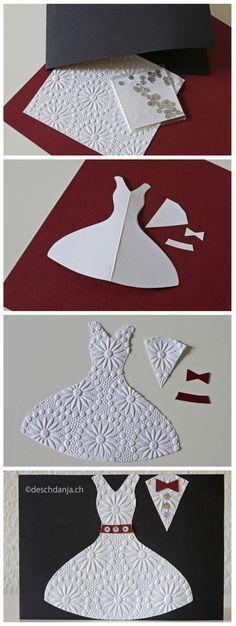 Wedding Card- This is gorgeous! – Erin Grace Wedding Card- This is gorgeous! Wedding Card- This is gorgeous! Cute Cards, Diy Cards, Tarjetas Diy, Karten Diy, Wedding Cards Handmade, Wedding Anniversary Cards, Card Wedding, Wedding Dress, Wedding Cake