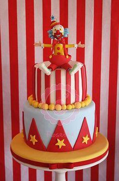 Cumpleaños temática de Circo