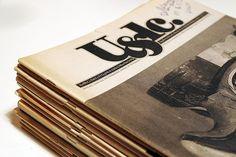 "U / Upper&Lower Case ""15冊"" by Maniackers Design, via Flickr"