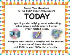 "Keep Your Kids ""Cyber Safe"" With Resources from BGCA #sp"