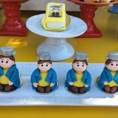 Festa Menino Maluquinho! Bombons e pão de mel modelados!  #docecarolina  #festamenino  #meninomaluquinho  #festameninomaluquinho