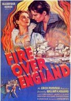 Watch Movies of 1937 » Yify TV  ~   Fire Over England (1937) Queen Elizabeth is running this show. The men in her court should be thinking about how to add to the glory of the Elizabethan Age and how to foil those pesky Spanish who got far too much ..... Genre:  Adventure, History, Romance, War