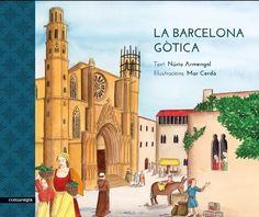 Una lectura per a nens i joves, fins i tot per a adults, que vulguin descobrir com es vivia a la Barcelona gòtica. Un repàs a través de l'arquitectura, l'art, els oficis i els costums de l'època. Barcelona, Notre Dame, Taj Mahal, Building, Travel, Painting, Infants, Historia, Life