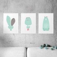 Zestaw plakatów A3, pokój dziecka - obrazy i plakaty
