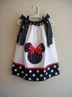 Minnie pillow case dress by Karen Veak