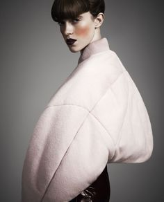 The Art Of Overstatement, Sojourner Morrell by Damian Foxe for How To Spend It, December 2012