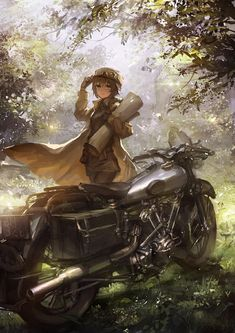 Great anime/ecchi pictures and arts. / The best jokes (comics and images) about anime pictures, rating - anime) Art Manga, Manga Anime, Sad Anime, Anime Demon, Kawaii Anime, Anime Comics, Kino's Journey, Image Manga, Arte Disney