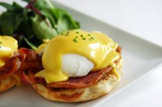 eggs benedict bacon hollandaise | Flickr - Photo Sharing!