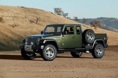 A Jeep pickup truck is being planned, official confirms