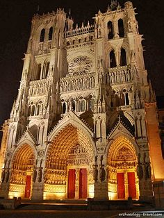 Amiens Cathedral In Colour