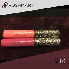 Kat Von D Ever Lasting Lipstick (NOT FULL SIZE) Bought these a while ago and only used them once or twice (Just not my colors to wear) The top one is Melancholia and the bottom one is Susperia! Price of each of them is $9, if you want both, I'll make it $16! Kat Von D Makeup Lipstick