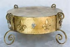 fleur de lis cake stand - - Yahoo Image Search Results