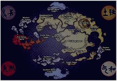Avatar the last airbender map Photo: map, not done by me, of the setting. This Photo was uploaded by tiamwow Fantasy Fiction, Fantasy Map, Medieval Fantasy, Avatar World, Water Tribe, New Animal Crossing, Fire Nation, Legend Of Korra, Avatar The Last Airbender