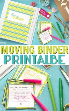 FREE Moving Binder P