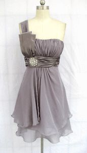 bridesmaid dress but a different color? :)