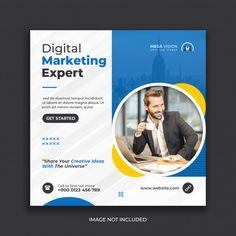 Social Media Poster, Social Media Banner, Social Media Template, Social Media Design, Graphic Design Flyer, Brochure Design, Digital Marketing, Facebook Marketing, Business Marketing