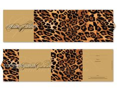 Passend zum diesjährigen Modetrend: Animal Print! Outfits, Cards, Gifts, Outfit, Clothes, Clothing, Style, Giyim