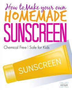 How to Make Homemade DIY Sunscreen