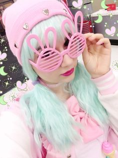 cryptozoological:they had these ridiculous bunny shades in the dollar section of target and I KINDA want them