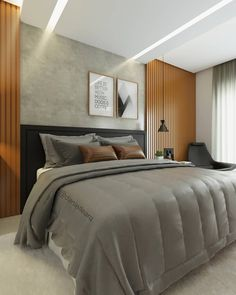 Modern Small House Design, Inside Doors, Family House Plans, Suites, New Room, Home Decor Bedroom, New Homes, Interior Design, Furniture
