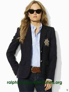 Polo-Ralph-Lauren-Womens-Custom-Blazer-Navy.jpg 371×498 pixels