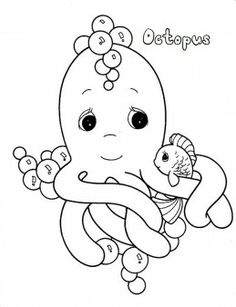 printable octopus sea coloring page activities worksheets coloringpages