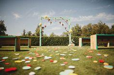 Backdrop แต่งงาน