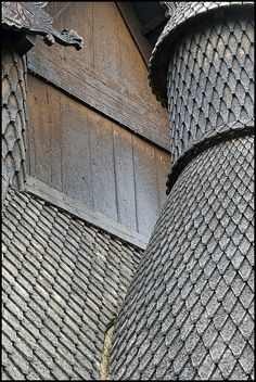 Borgund Stave Church No. 2 by FloydSlip, via Flickr, Borgund, Norway