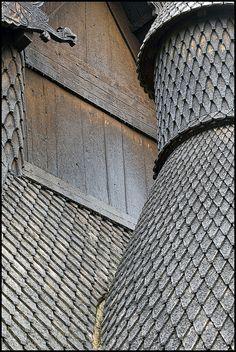Borgund Stave Church No. 2 by FloydSlip, via Flickr, Borgund, Norway