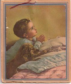 "Yuletide Prayers Calendar ""And Make Us Good Boys"":"