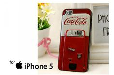 Coca Cola Vending Machine 2 Case for iPhone 4/4S/5/5S/5C,Samsung Galaxy S2/S3/S4