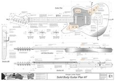 Solid Body Electric Guitar #7: Electronic Version