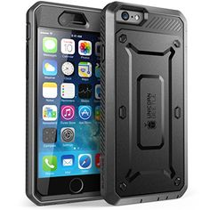 iPhone 6 Case - SUPCASE Apple iPhone 6 4.7 Case Unicorn Beetle PRO Series Full-body Hybrid Protective Cover with Built-in Screen Protector for iPhone 6 Air (Black/Black, Not Fit iPhone 6 5.5 inch), Dual Layer Design/Impact Resistant Bumper Supcase http://www.amazon.com/dp/B00MOOF4D8/ref=cm_sw_r_pi_dp_86Bbub10N6K9G