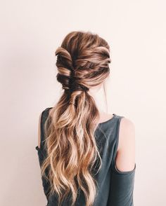 61 Best School Hairstyles Images Curly Hair Tuto Coiffure