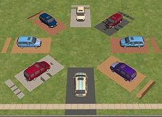 Mod The Sims - Rotatable Driveways