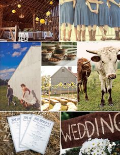 Country Wedding Decor and Ideas ~ * THE COUNTRY CHIC COTTAGE (DIY, Home Decor, Crafts, Farmhouse)