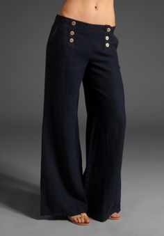 Linen sailor pants too expensive but love