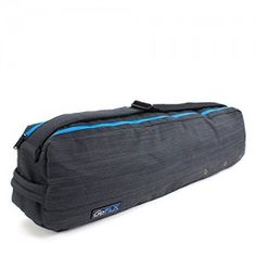 Yoga Mat Bag Premium Yoga Pilates Bag for Exercising Dual Compartment with  Carry Strap Grey Water Resistant -- Visit the image link more details. 13f8fe335cbe2