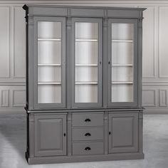 GRAND COLLECTION витрина-шкаф - Книжные шкафы, витрины, библиотеки - Гостиная и кабинет - Мебель по комнатам My Little France