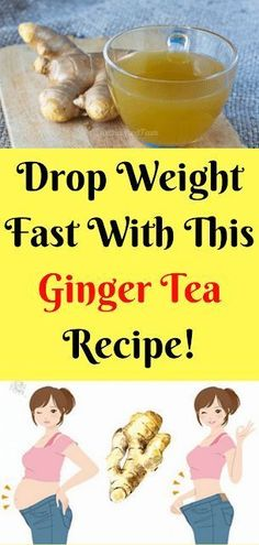 Drop Weight Fast With This Ginger Tea Recipe! Weight Loss Tea, Fast Weight Loss Tips, Healthy Drinks, Healthy Tips, Healthy Recipes, Healthy Food, Drop Weight Fast, Fat Burning Tea, Health Tonic