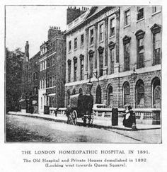 Victorian Era Hospitals | the london homoeopathic hospital in 1891 the old hospital and private ...